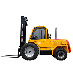 New Rough Terrain Forklifts